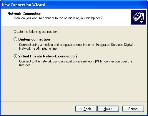 Configure Virtual Private network For Windows XP Using Free VPN service